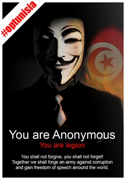 TODAY, 15 JAN 2011: Anonymous urges global day of action in protest at attempts to close down Wikileaks