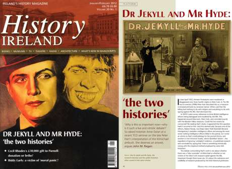 Latest History Ireland - Jan-Feb 2012 - John Regan's view