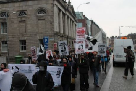 Marching from Stephens Green 3