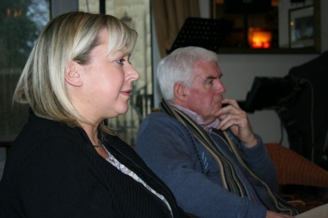 Joan Hardy, Michael Corrigan