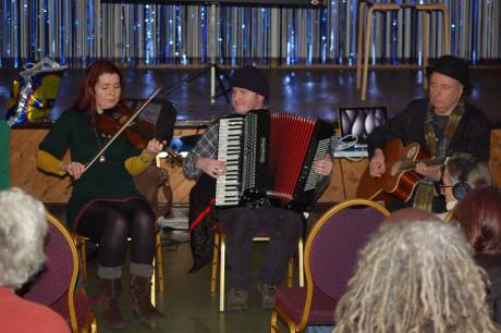 Musicians at the Picton Centre