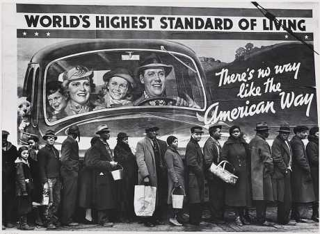 1937 Louisville, Kentucky. Margaret Bourke-White. There's no way like the American Way