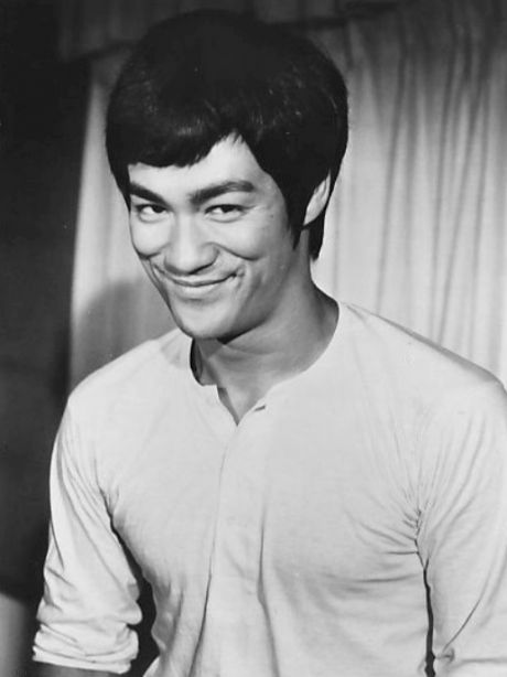 Bruce Lee, portrayed in the film by Mike Moh