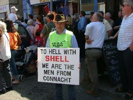 Sligo Farmer Makes His Stand At Ballina March 16/07/05