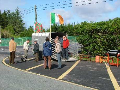 The Convergence Centre at the picket of the main gate at Ballinaboy
