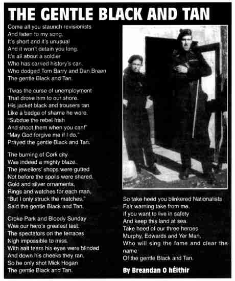 'Cut out and keep' commemorative poem - a much maligned force