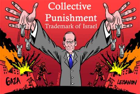 Collective punishment - trademark of Israel