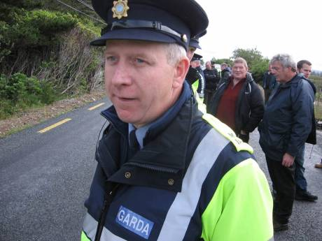 many people commented on the smell of alcohol from the Garda� on duty