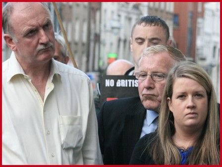 Dublin City Councillors l-r, Niall Ring (Ind) - Christy Burke (Ind) and Louise Minihan (Eirig�)