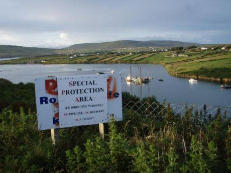 'green' Gormley permits Shel to destroy  SAC/SAP Sruth Mhada Conn<br /> estuary