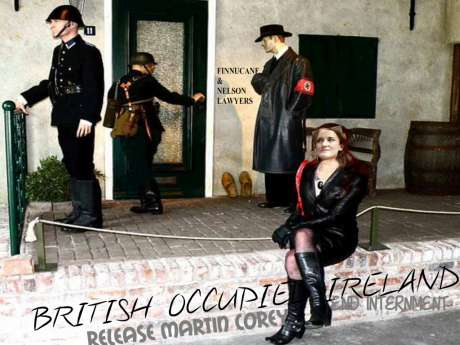Gestapo SS British Occupied Ireland