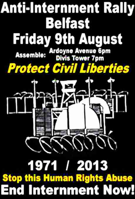 Internment Rally Belfast