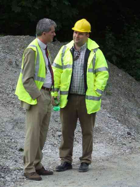 Limerick County Council Public Persecution Engineers Donal Brennan & Colm Morrissey.
