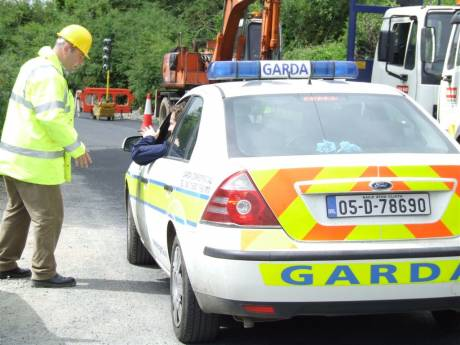 "A collaborative effort - nice work lads!? ""I'm happy with that"" says Donal Brennan to the Gardaí."