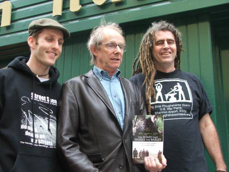 Damien Moran, Ken Loach, Ciaron O'Reilly & Book 'The Wind That Shakes The Barley'