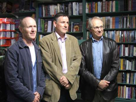 Paul Laverty - Scottish Scriptwriter, Dominic O'Carrol - Corkonian Publisher/Activist, Ken Loach - English Director