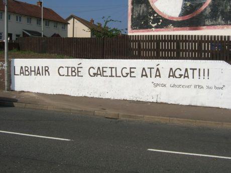 Labhair cibé Gaeilge atá agat
