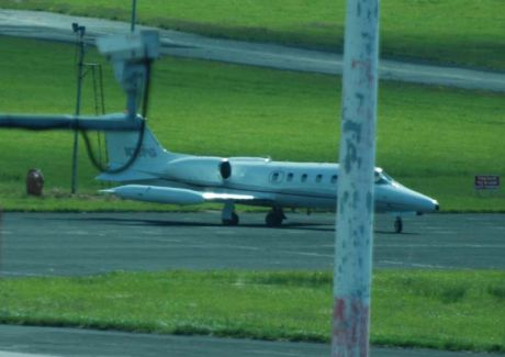 N71PG refuelled and about to take off Shannon 11June09