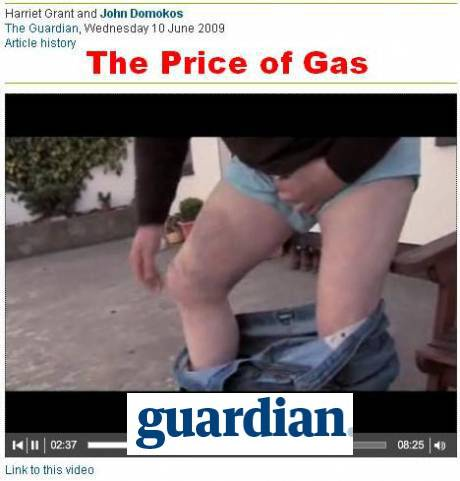 The Guardian  video: The price of gas