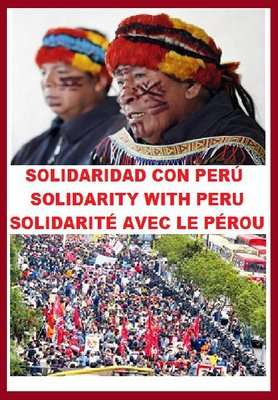 Solidarity with Peru