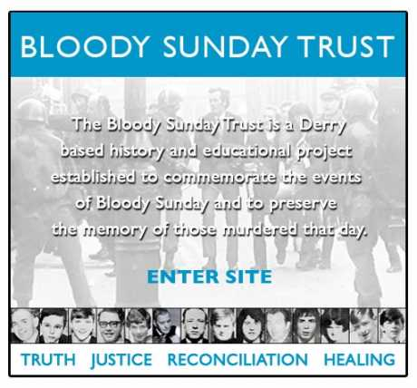 Bloody Sunday Trust - TRUTH JUSTICE RECONCILIATION HEALING