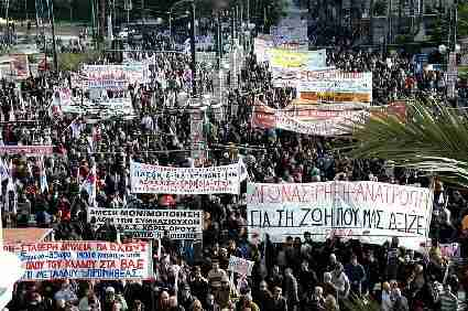There have been 3 general strikes in Greece so far this year