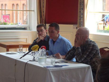 Panel at meeting - Image by Freda Hughes