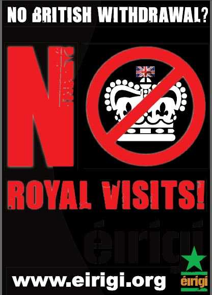 NO ROYAL VISIT