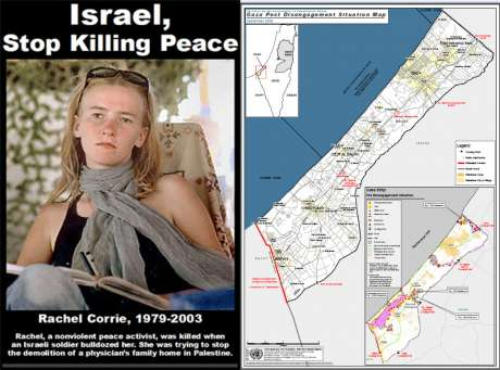 Israel stop killing peace - click on link to view full PDF 2005 UN map of Gaza