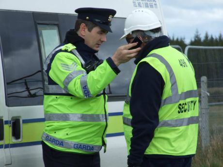 Gardaí helping IRMS & Jim Farrell in any way they wish