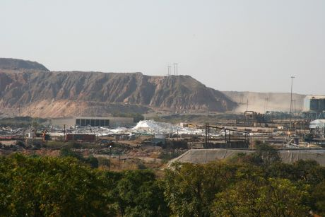 Nchanga Copper Mine in Zambia