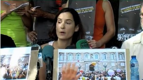 AcampadaBCN press statement: WE ARE PEACEFUL AND STILL INDIGNANT