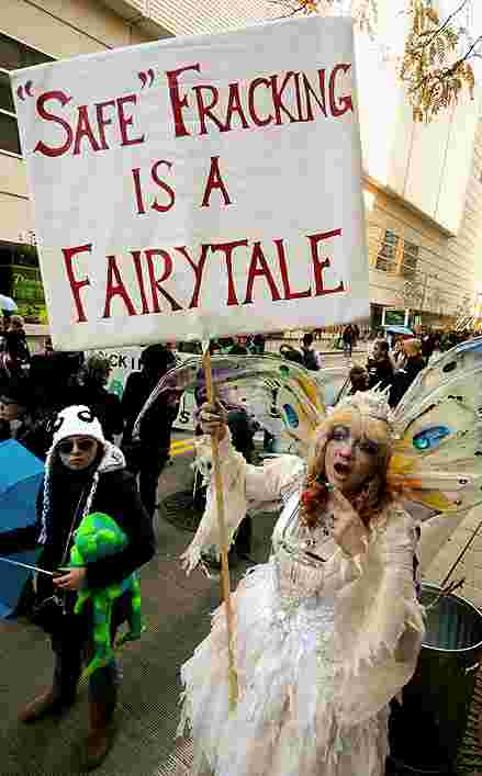 Safe Fracking - A Fairytale