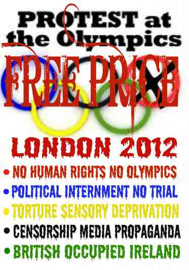 Protest at Olympic London 2012