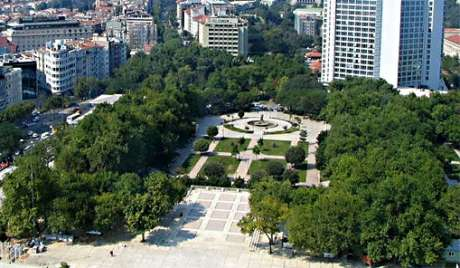 Gezi Park Istanbul. This is the park they want to turn into a shopping mall. Will Stephen's Green be next?