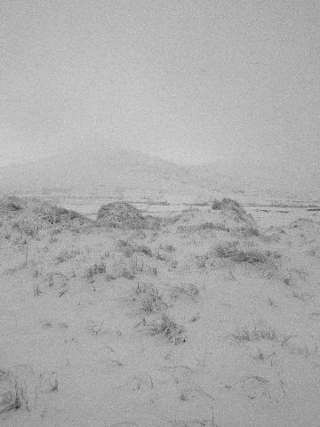 Dooncarton mountain in the snow