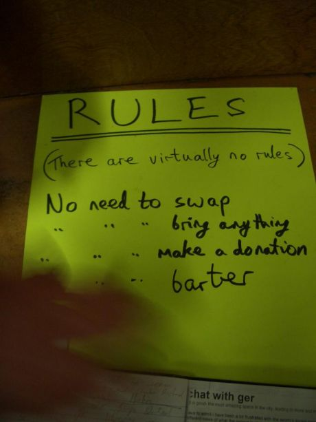 rules......there are virtually no rules