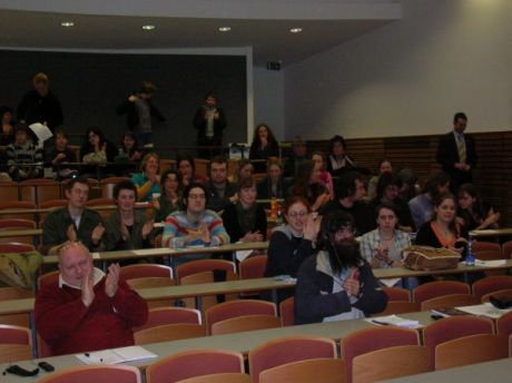 The audience at Maynooth