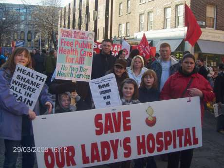 Save Our Lady's Hospital Campaign