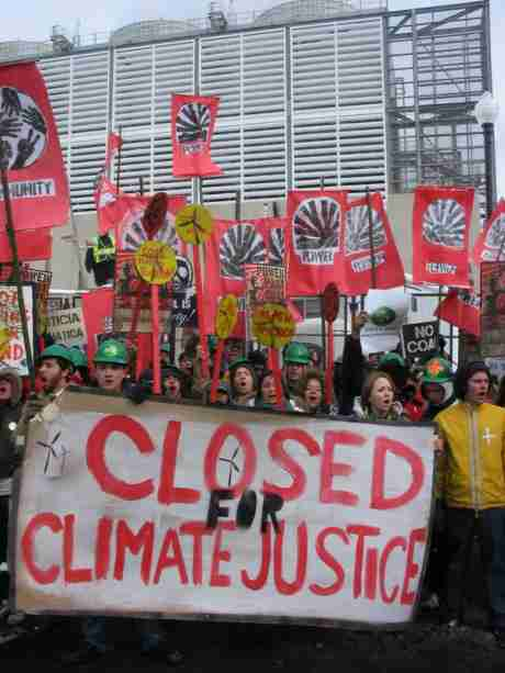 Closed for Climate Justice