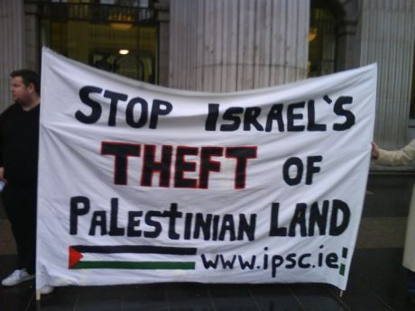 Stop Israeli Theft of Palestinian Land (c. Fintan Lane)