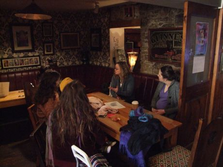 Parenting workshop, lunchtime at Fionnbarra's