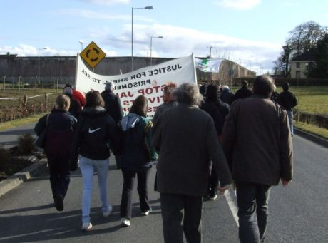 Marching in to the prison gateway - 5