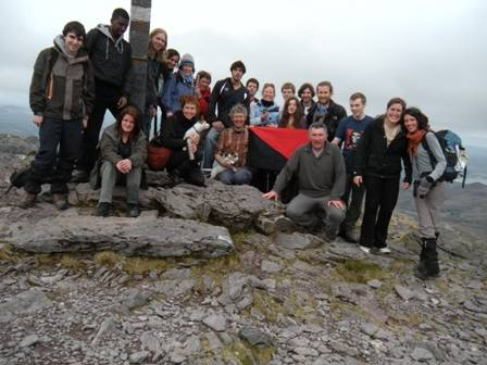 Red and Black at the Summit