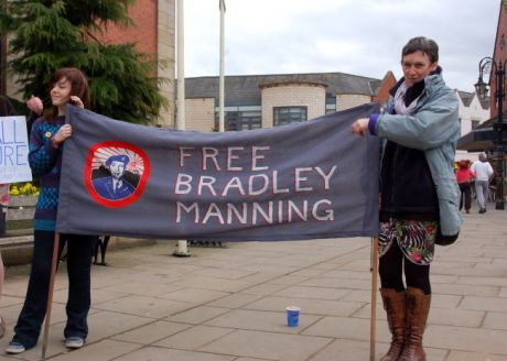 free bradley manning! - our new banner