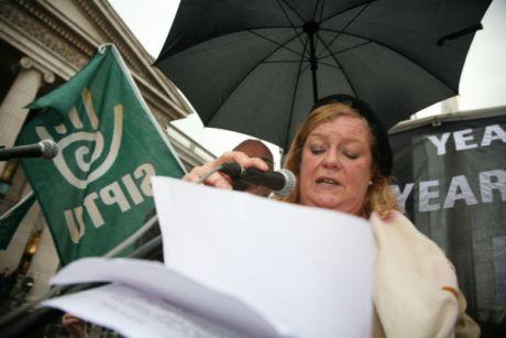 Mags O'Brien,  TUFP Chairwoman