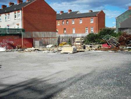 The Timber Yard - possible site for construction of new council homes.