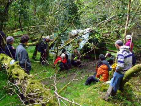 Bushcraft, and an insight into the mentality of survival, with Del.