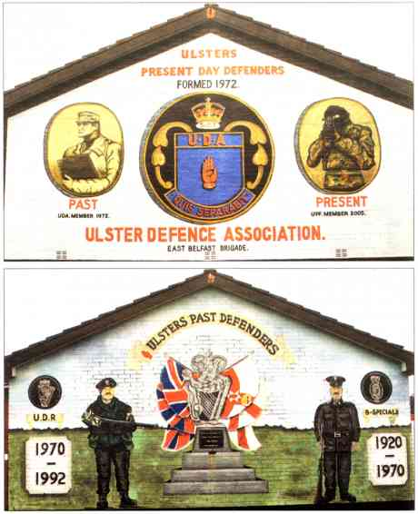 UDA-UDR- B Specials - legally sectarian