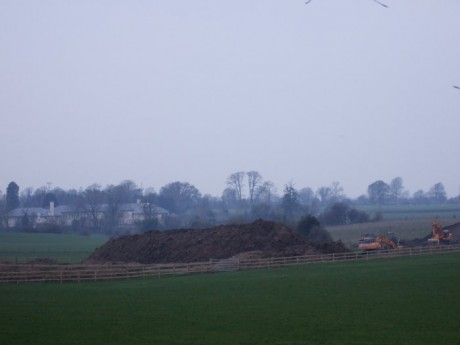 Another view of spoil heap 30 March 2007
